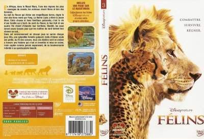"DVD ""FELINS"""