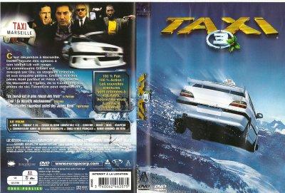 """DVD """"TAXI 3"""""""