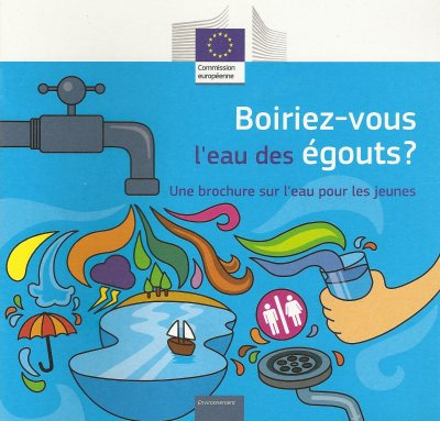 """LIVRET """"BOIRIEZ-VOUS L'EAU DES EGOUTS"""""""