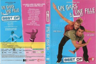 """DVD """"UN GARS ET UNE FILLE BEST OF"""""""