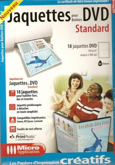JACQUETTES DVD