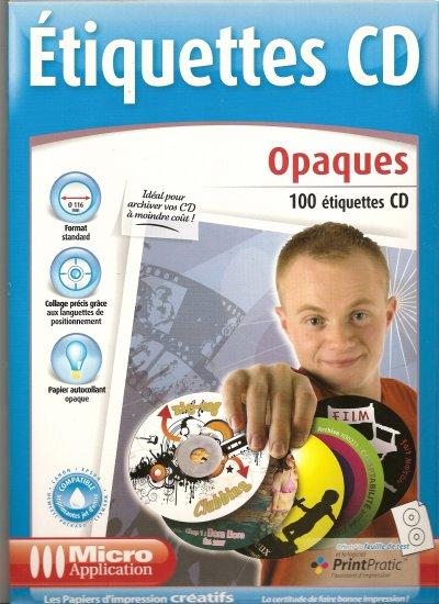 ETIQUETTES CD