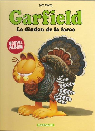 "BD GARFIELD "" LE DINDON DE LA FARCE"""