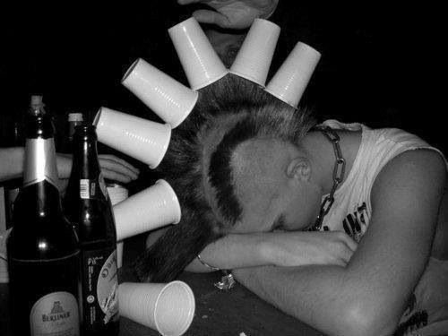 Punk's Not Dead, Punk's Sleepin' Drunk