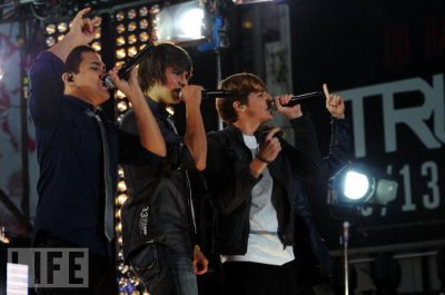Les big time rush en concert ça donne ça !