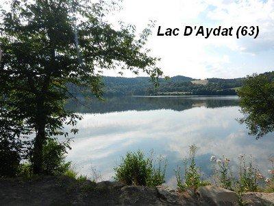 LE LAC D'AYDAT EN AUVERGNE