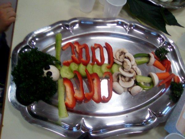petite idées d'amuse bouche sur le thème du food art