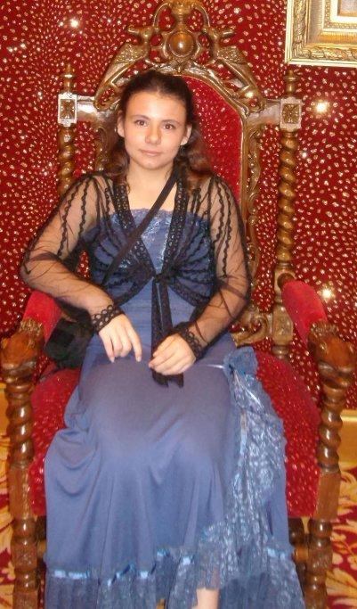 Moi au Royal Palace