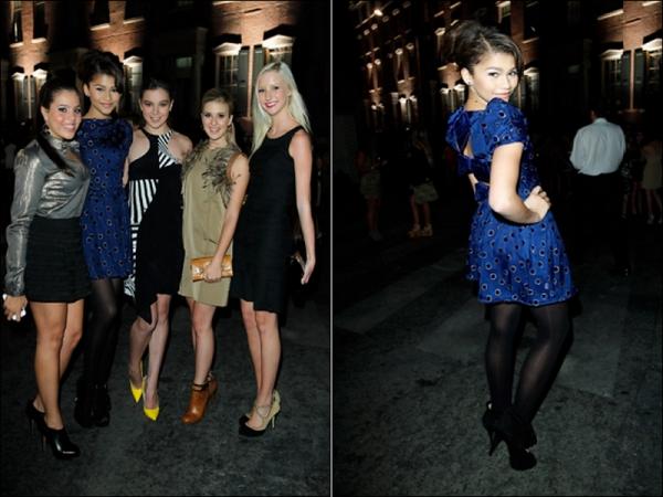 . 23.o9.ll : Zendaya était à la neuviéme édition de la Teen Vogue Young Hollywood Party.