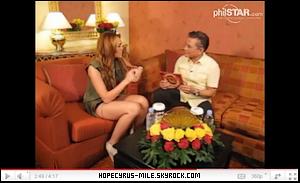 .  16/06/11: Miley fesait une conférence de presse aux Philippines. Miley a été a l'émission Eat Bulaga pour la promotion du Gypsy Heart Tour. Et Miley a donnée une interview.. .