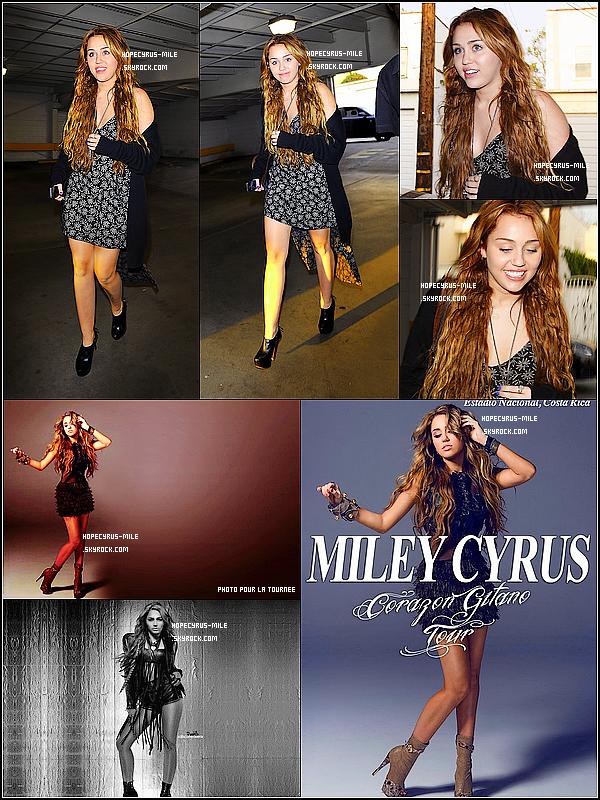 - 17/04/11: Miley Cyrus été aperçus à Hollywood faisant du shopping .TOP ou FLOP ? .Découvre aussi de nouvelles photos promo' pour la tournée . -