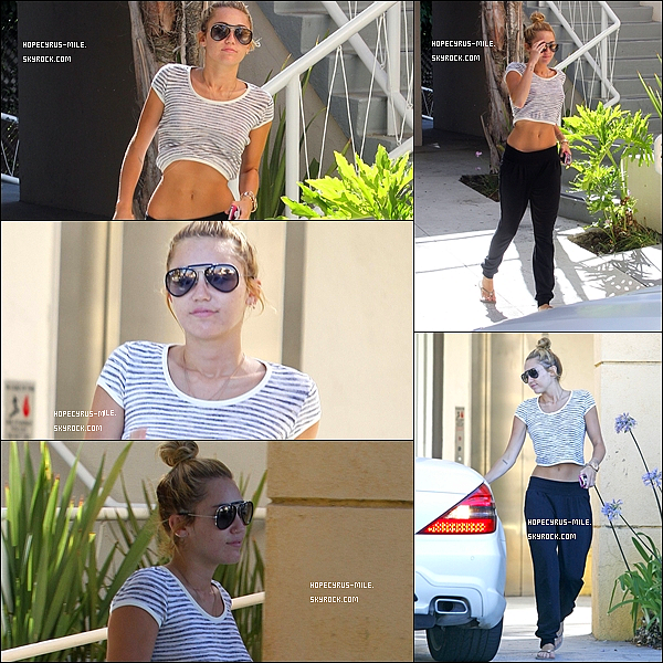 . 29.06.12.Miley quitte son cours de pilate. TOP ou FLOP?.