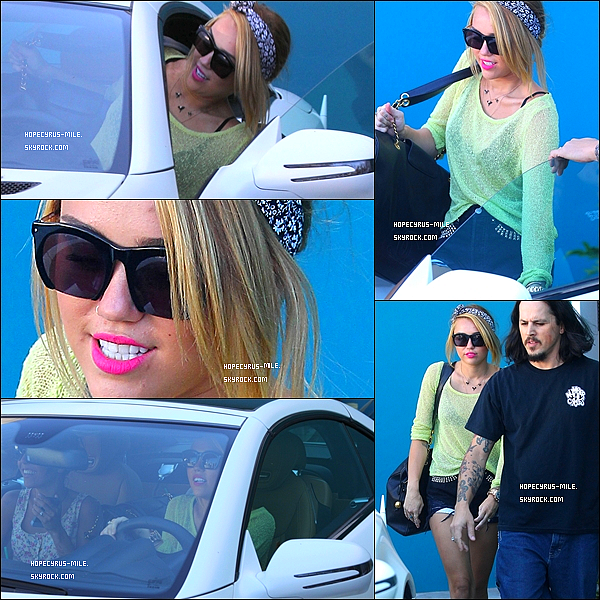 . 25.06.12. Miley sort de son cours de Pilate. TOP ou FLOP ?.
