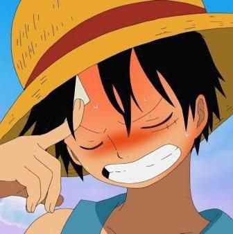 Luffy qui réfléchit !