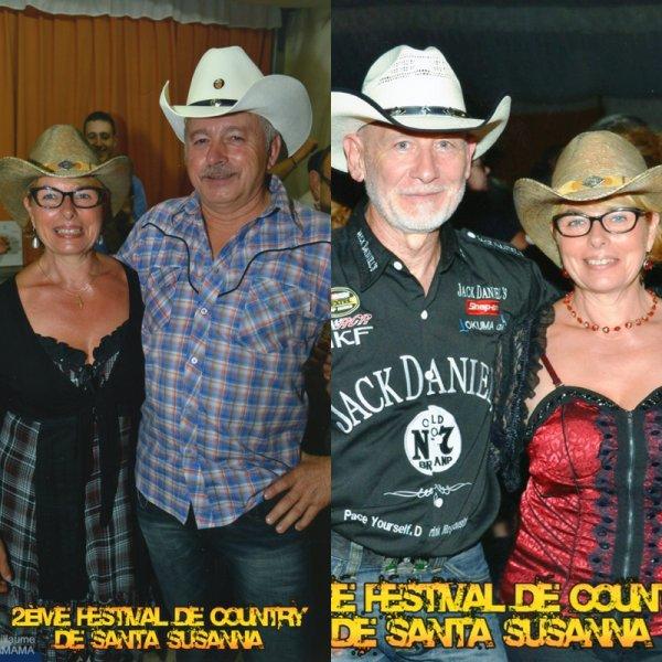 2ème festival Country de Santa Susanna (Espagne).