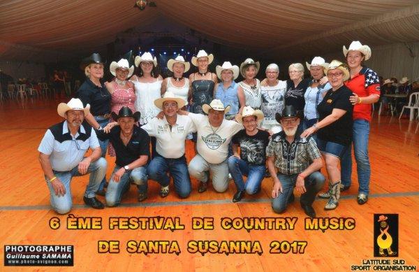6ème Festival de Country Music à Santa Susanna 2017