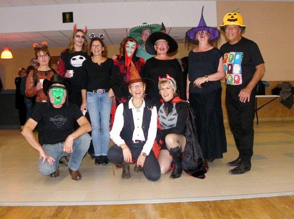 Cours spécial retour Santa Susanna et Halloween.