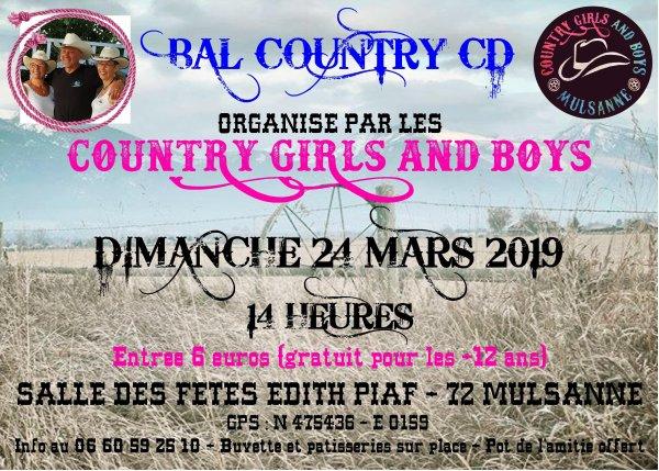 Prochain Bal de Mulsanne 24 mars 2019