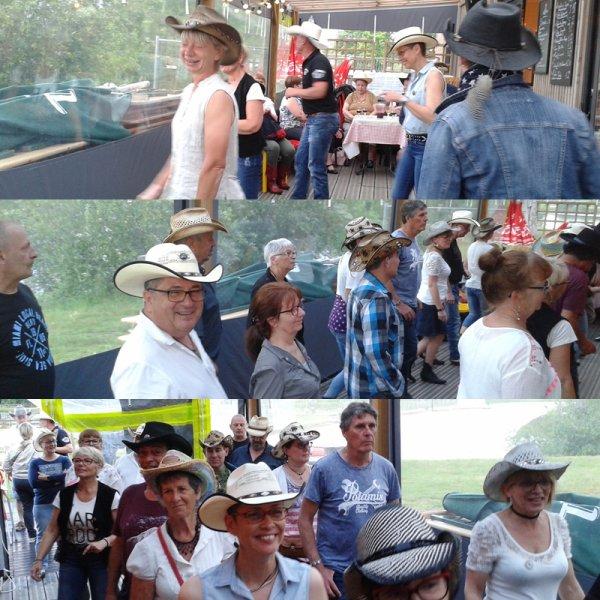 2ème Soirée Country à la Guinguette de la Gémerie à Arnage le 19 juin 2019.