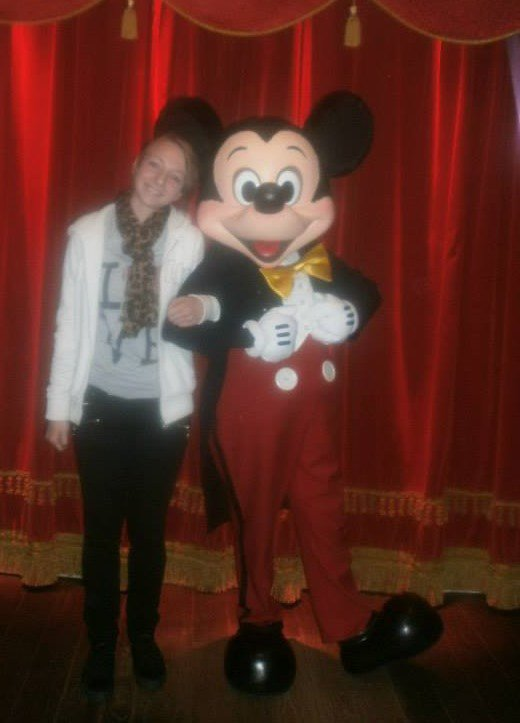 Cette photo, restera toujours gravé dans ma tête ! Disney 2O13 . <3