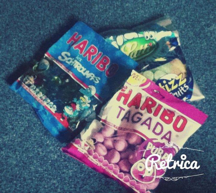 Bonbons *w*