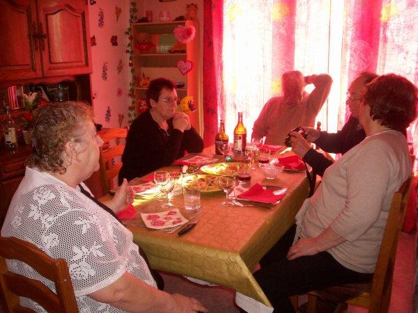 repas du 13 novembre avec mes tata et tonton et parents