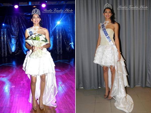 Miss Vendée 2014 pour Miss Pays de Loire 2014