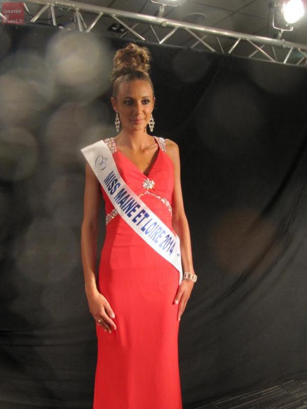 Miss Maine et Loire 2014 pour Miss Pays de Loire 2014