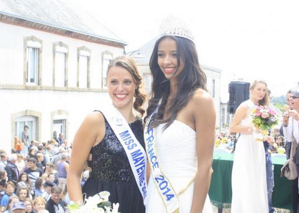 Miss Mayenne 2014 pour Miss Pays de Loire 2014