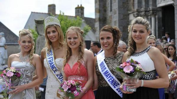 Miss Mayenne 2015 pour Miss Pays de Loire 2015