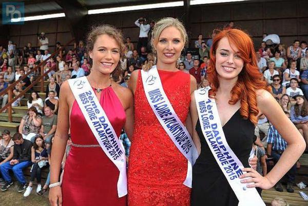 Miss Loire Atlantique 2015 pour Miss Pays de Loire 2015