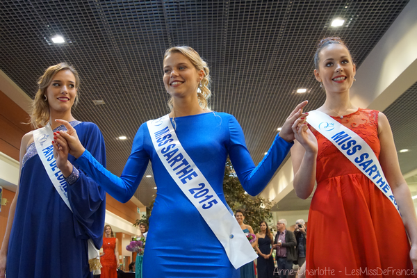 Miss Sarthe 2015 pour Miss Pays de Loire 2015