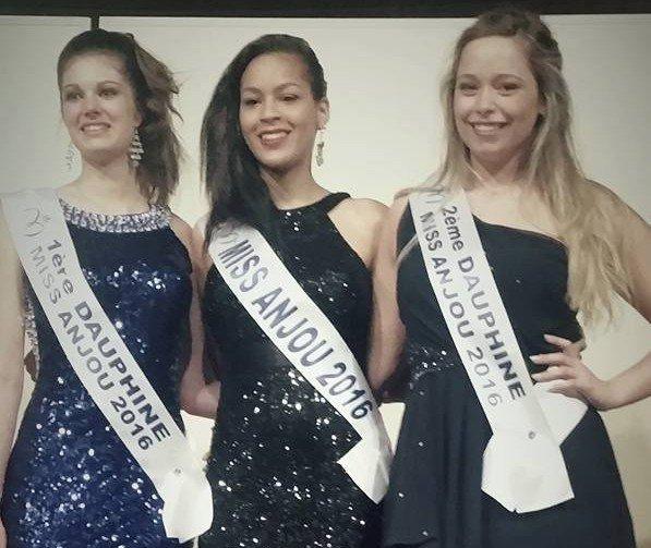 Miss Anjou 2016 pour Miss Pays de Loire 2016