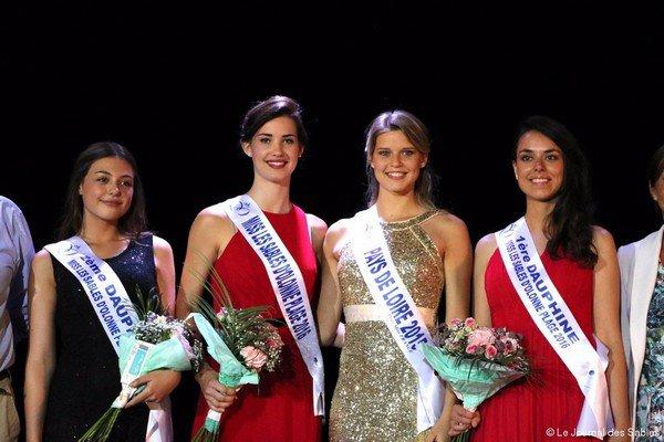 Miss Les Sables d'Olonne Plage 2016 pour Miss Pays de Loire 2016