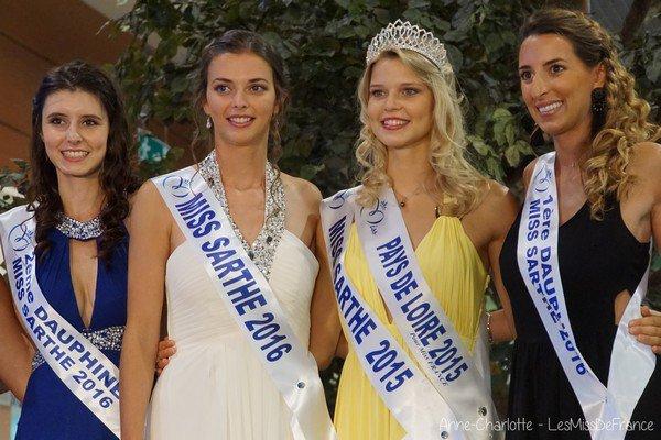 Miss Sarthe 2016 pour Miss Pays de Loire 2016