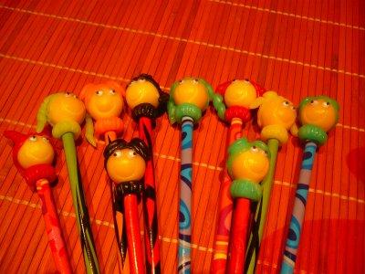 Séries de petits crayons!