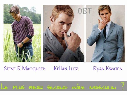 Acteurs : Steve R Macqueen / Kellan Lutz  / Ryan Kwanten .