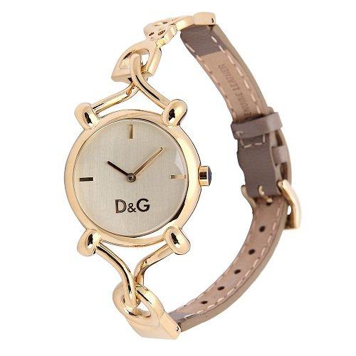 6b73e26d4ee DOLCE   GABBANA - DW0498 - Quartz - Montre Femme - Bracelet en cuir au  promos chez www.montrezone.com