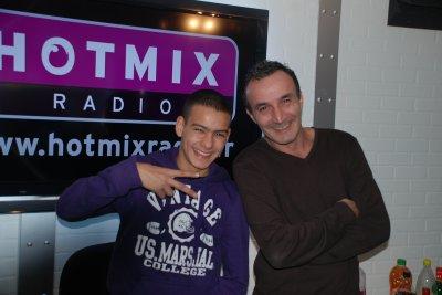 Djamboy avec Pascal Selleme en radio sur hotmix