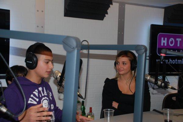 Djamboy avec Priscilla en radio sur hotmix