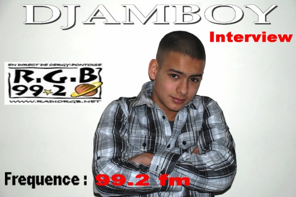 DJAMBOY EN DIRECT SUR RADIO RGB 99.2