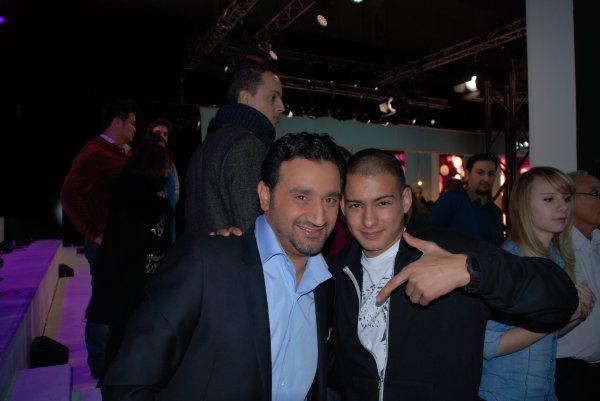 Djamboy avec Cyril hanouna