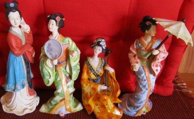 Toiles et Japon