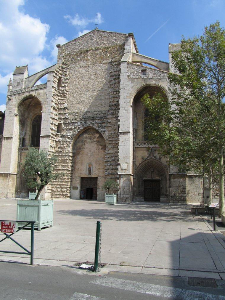 Basilique de Saint-Maximin dans le Var