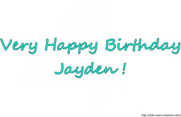 Aujourd'hui est un jour trèèès spécial, c'est l'anniversaire de mon petit boue d'amour : Jayden James Spears-Federline. Il fête ces 4 ans et je lui souhaite un énorme JOYEUX ANNIVERSAIRE, j'espère qu'il aura plein de cadeaux et qui sera très heureux. Pour cette journée speacial voici 4 videos de la plus jolie petite bouille du monde et de son frère Sean Preston : 1 - 2 - 3 - 4 (l)