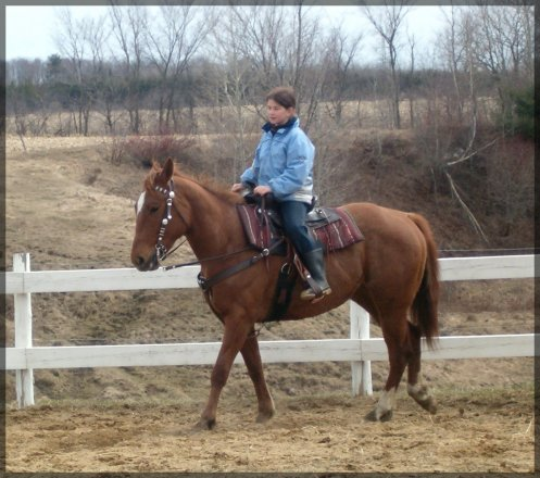 ___On n'oublie jamais son premier cheval...