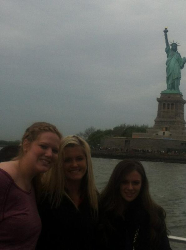 Caitlin  à New York