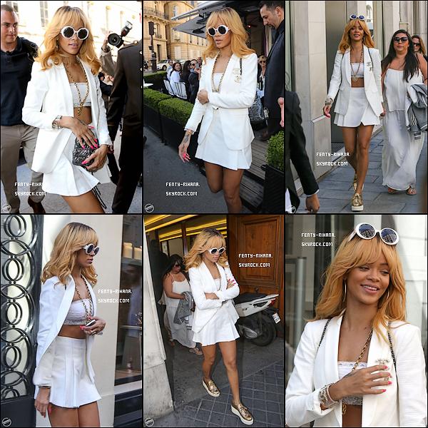 02 Juin 2013 - Rihanna quitte sont hôtel à Barcelone, Espagne.