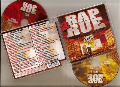"""AL KAN est présent sur la compilation """"RAP 2 RUE 2009"""""""