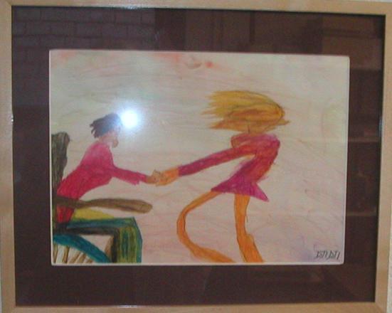 cyclo-danse (une peinture que j'ai fais)